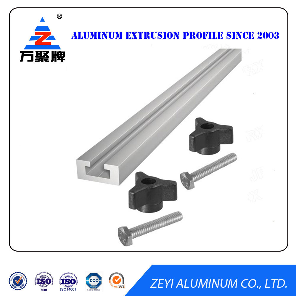 Wholesale high quality t track aluminum profile for framing