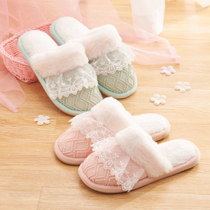 3 Layers Memory Foam Sponge Women Fancy Bedroom Slippers