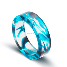 3JM-004 Jewelry Finger Ring Design Fashion Ladies Plastic Resin Ring