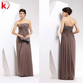 494a45e3baab Off shoulder sexy backless maxi coffee evening dress girls party dresses  kt1040