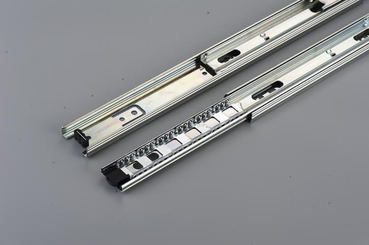 Full extension push open kitchen cabinet sikai  mepla drawer slider
