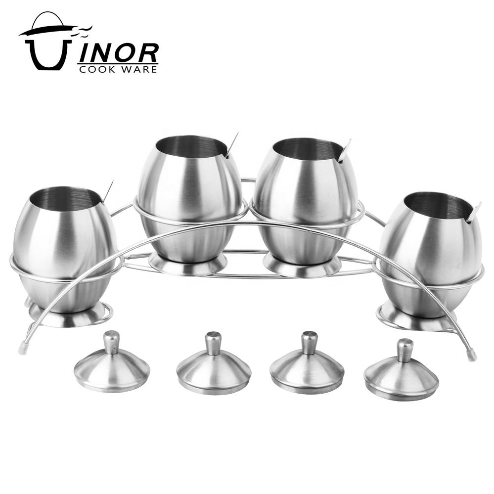 dinnerware seasoning rack sugar pot stainless steel for sale