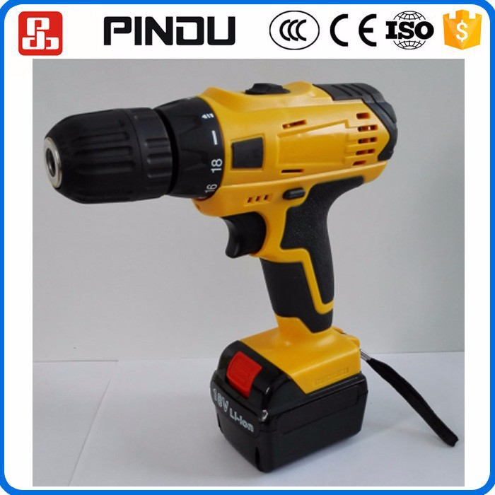 Power max 18v rechargeable cordless drill with Li-ion battery