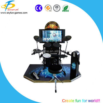 electric drum music game machine for sale 32 inch v drum buy drum machine arcade music game. Black Bedroom Furniture Sets. Home Design Ideas