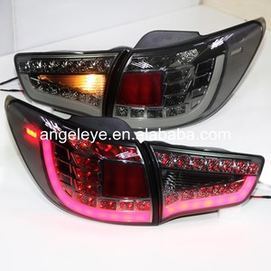 2009-13 year for KIA Sportage R LED Tail Lamp Rear Light Q5 Style Smoke Black Color WH