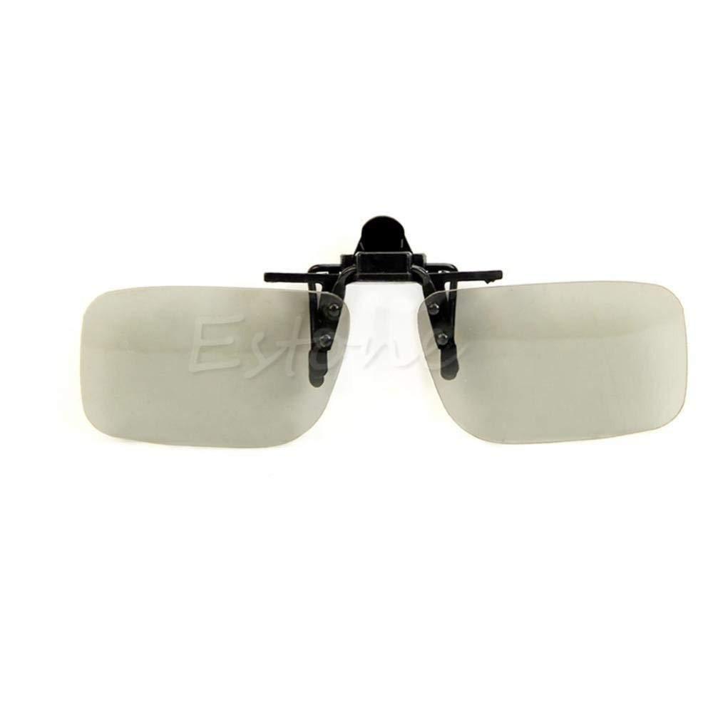 1 PC Clip On type Passive Circular Polarized 3D Glasses Clip for 3D TV Movie/Cinema (1 PC Clip On type Passive Circular Polarized 3D Glasses Clip for 3D TV Movie/Cinema)