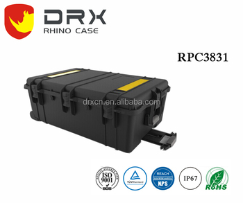 DRX Branding _ Outdoor MEGA Plastic instrument Protective Modified PP mateiral Case