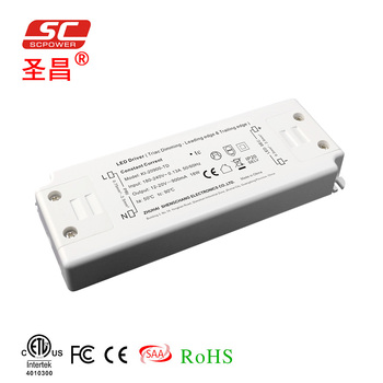 constant current LED power supply 350 500 700 900mA 20W CE triac dimming LED light