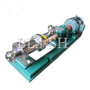 Hot sale food grade horizontal heavy oil double screw pump