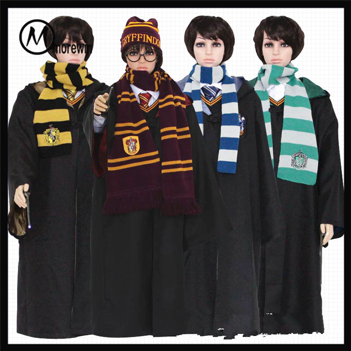 Morewin brand wholesale promotional cheapest price harry potter hats and scarf sets