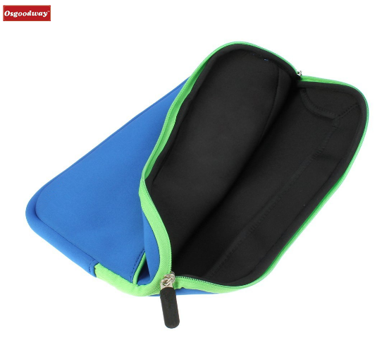 Osgoodway Hot Sale Portable Neoprene Zipper Polyester Travel Laptop Bag Tablet Sleeve Bag with Computer Case