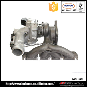 k03 turbocharger for audi a3 2 0 TSFI 53039880105 53039700105