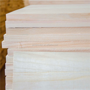 Factory Directly Sale AA Grade Paulownia Cedar Solid Wood Jointed Board all kinds of timber board
