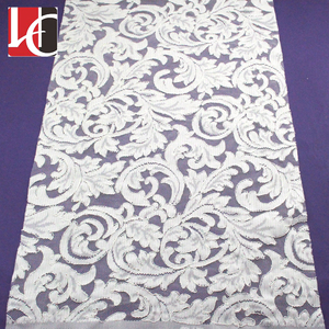 HC-3901 Hechun Hot sale embroidery guipure lace fabric in dubai