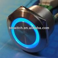 2013 newest 25mm Momentary or latching illuminated push button tact switches