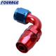 Racing Parts 6AN -6 AN AN6 90 Degree Swivel Fuel Line Hose End Fitting Adapters