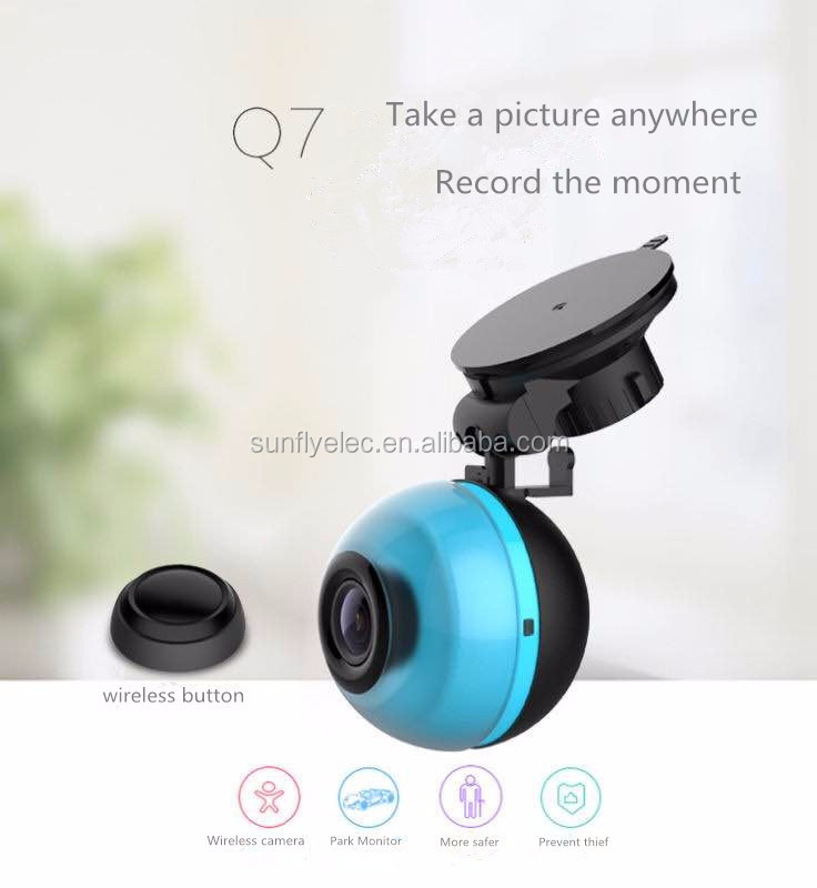 Seamless recording 1080p car dvr driving recorder support wifi