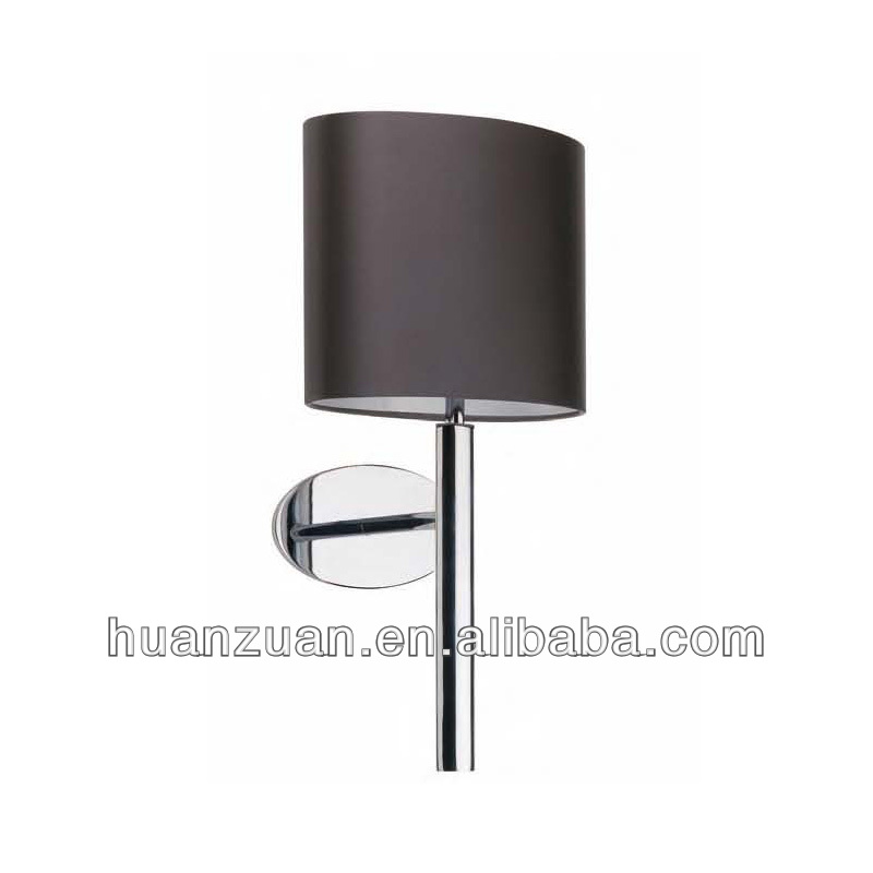 hottest oval mocha satin wall light,brief style