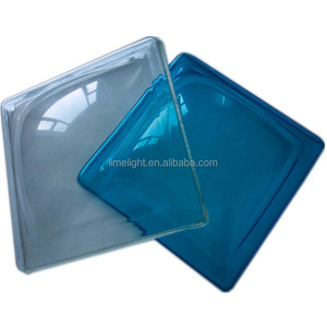 Dome square bottom type polycarbonate skylight