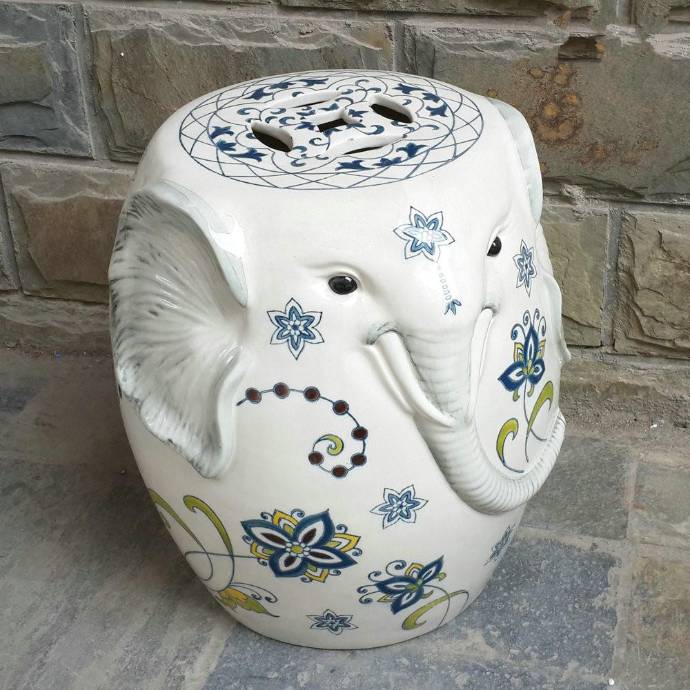 Popular Ceramic Elephant Stool Buy Cheap Ceramic Elephant