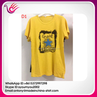 2016 Latest men's t shirt custom Cheap Price 100% cotton t-shirt ready stock