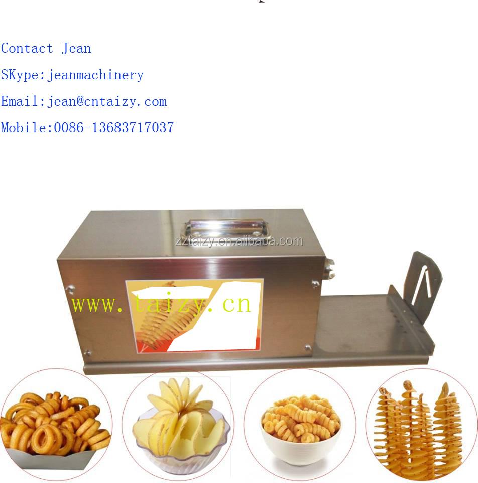 lectrique spirale croustilles faisant la machine frites en spirale pomme de terre en spirale. Black Bedroom Furniture Sets. Home Design Ideas