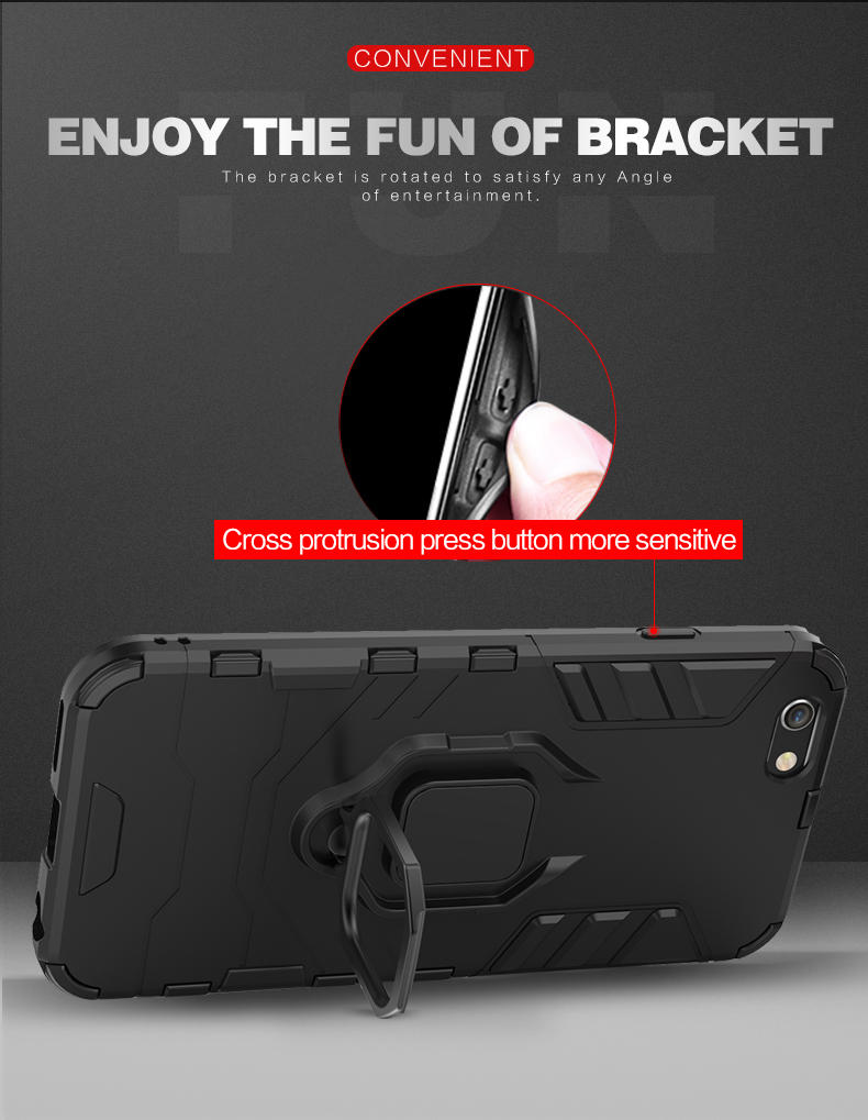 Newest design metal ring phone cover for iPhone XS, XS plus , XR