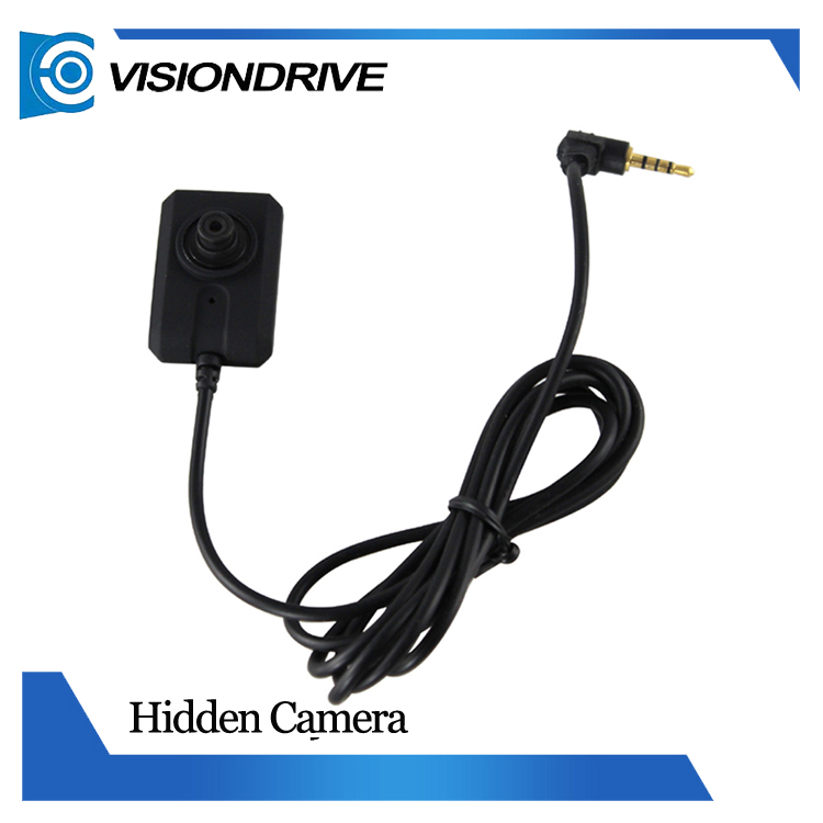 Visiondrive 303 Hd Mini Hidden Camera System Pocket Shirt Lens + ...