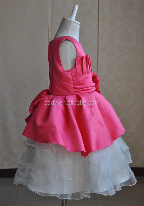 0011003043 2015 latest design kids party wear dresses for girls Fancy birthday-dress -for-