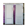 UPVC louver door design without track PVC Louver door for house