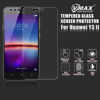 Promotion !! 0.33mm 2.5D Arc Edge 9H Hardness Tempered glass mobile phone screen protector for Huawei Y3 II / Y5 II 2
