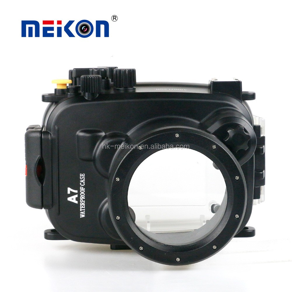 40m underwater diving camera 28-70mm lens meikon waterproof case for sony a7