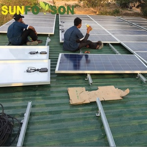 water-proof pv solar panel mounting system for roof mount