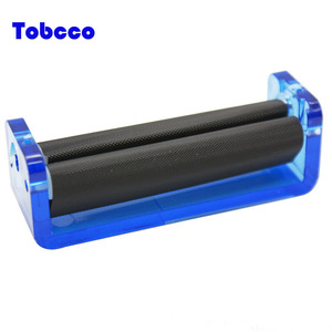 China Factory 70mm Cigarette Filling maker Hand Manual Tobacco Rolling Machine Plastic Cigarette Roller
