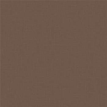 Leather Effect Wallpaper Plain Pvc Brown