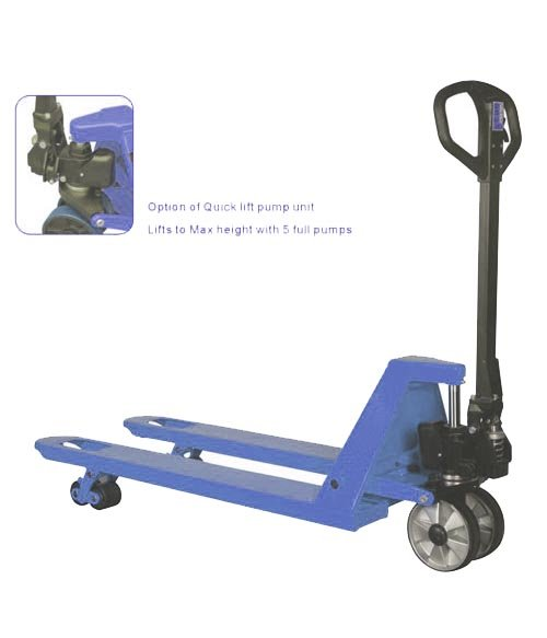 hand pallet truck 2T or 2.5T with nylon wheel or PU wheel