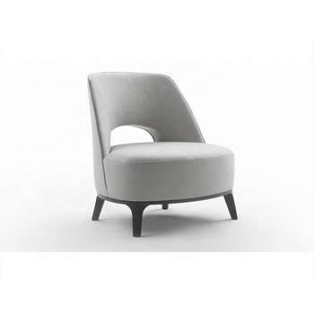Wood Frame White Fabric Accent Chair Armchair - Buy Wood ...