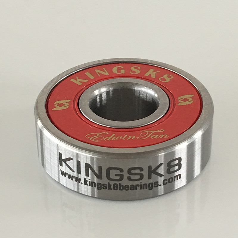 Red skateboard ball bearings, ball bearings for skateboard