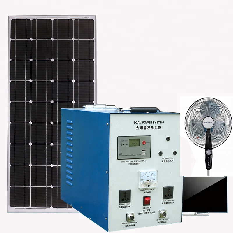 10W/15W/20W Home Portable DC Solar <strong>Energy</strong>/Power System with Home small electric equipment