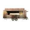 FV-55 indoor smokeless grill food trailer electric lava rock grill food trailer disposable barbecue grill food trailer