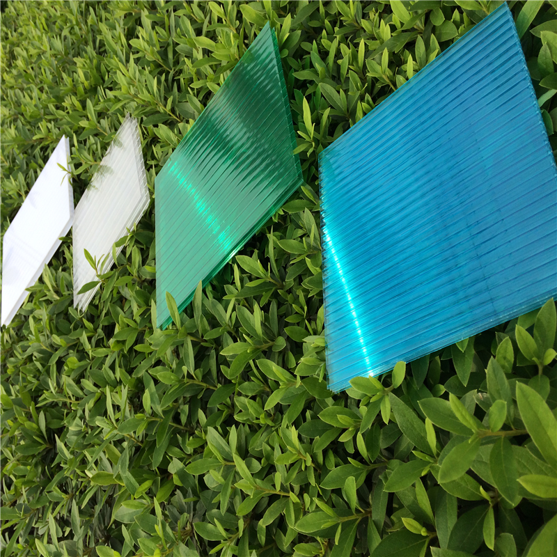 Good weather resistance 12mm polycarbonate multi wall hollow sheet