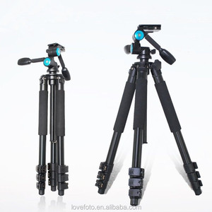 New Beike/Manbily MBL-620 Professional Travel Tripod Kit Complete With 3-d Head