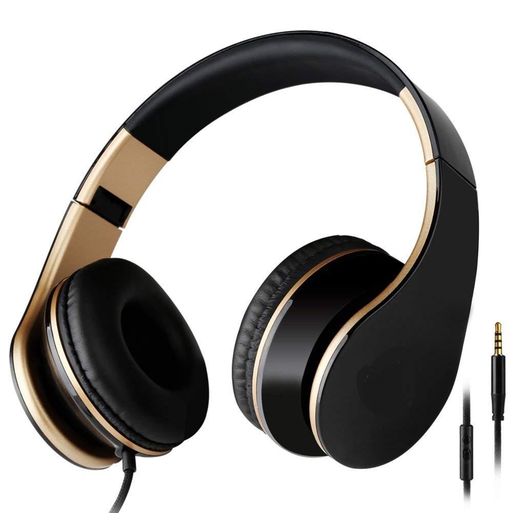 Head-arch headphones Cell phone headset Single-plug bass headset headsets-E