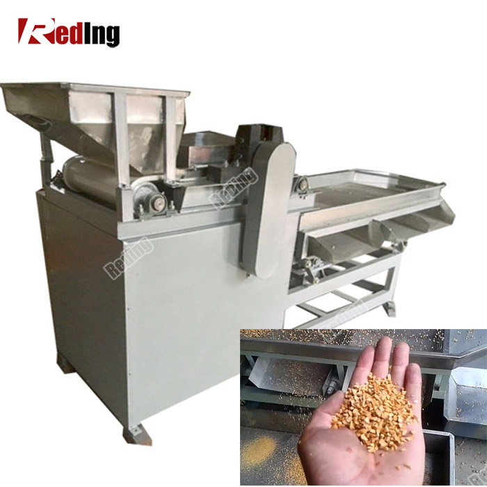 Industrial Commercial Peanut Cutting Machine/Groundnut Kernel/Almond Cutter Price