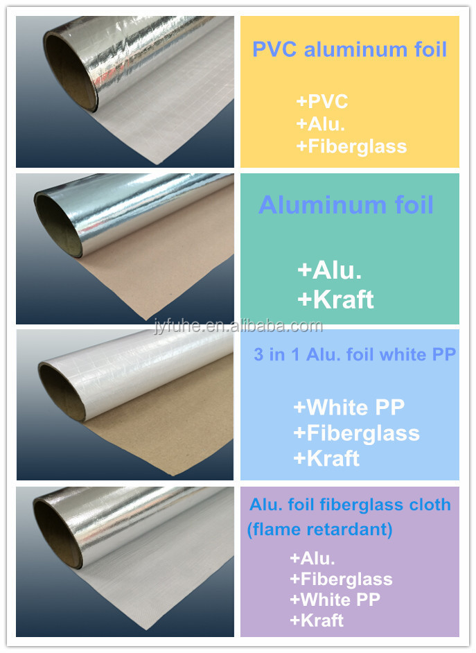 Natural Plain Al.foil Cladding,Self Adhesive Aluminum Foil Tape ...
