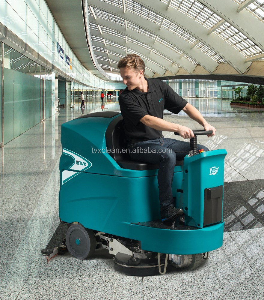 Multi-function ride on Floor Scrubber/scrubber dryer/sweeper