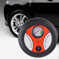 2016 New Portable Electric Mini Tire Inflator mini Compressor 12V Auto Air Compressor Pump Car Tyre Tire Inflator