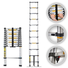 2016 NIEUWE Alibaba Hot selling TELESCOPLC <span class=keywords><strong>ladder</strong></span> aluminium 1 3 sectie ameristep boom stand <span class=keywords><strong>ladder</strong></span> extension