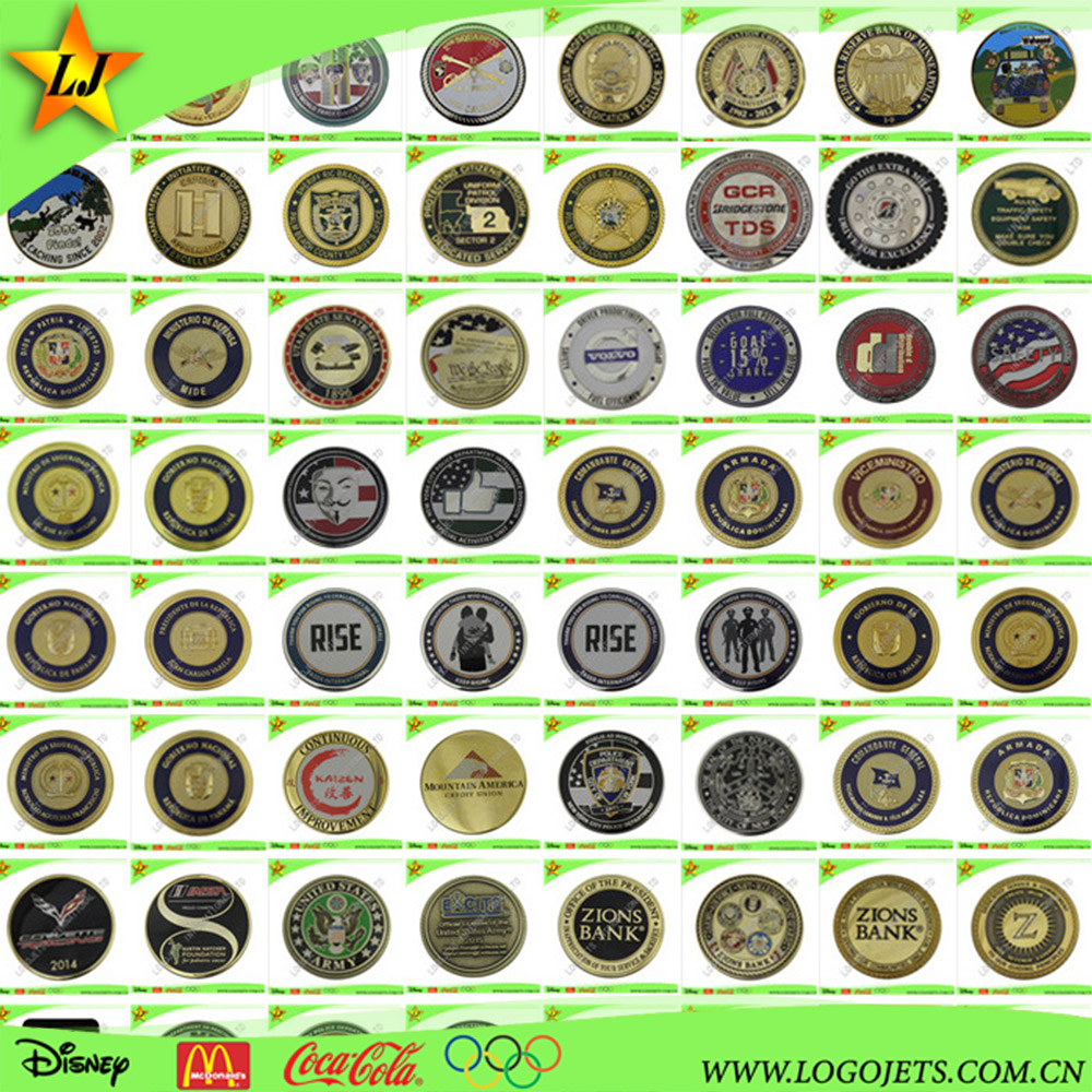 China manufacturer souvenirs coins metal crafts