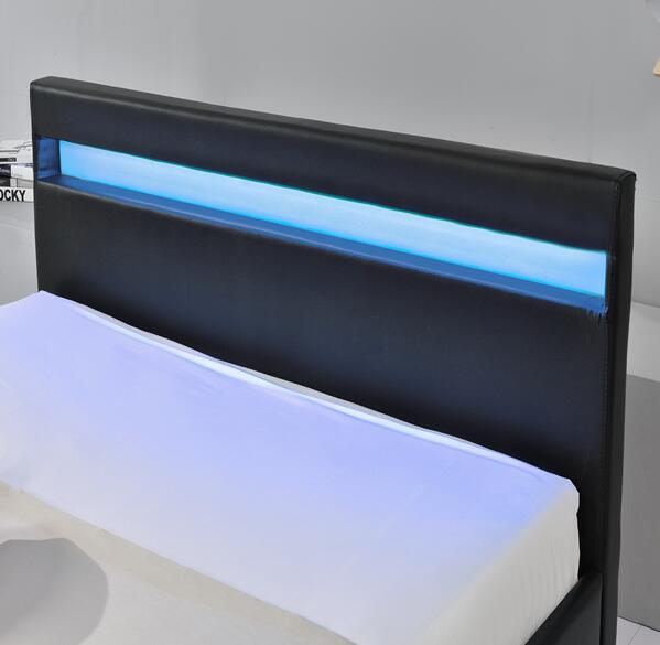 Modern New Design Platform Bed Double Size with Drawers